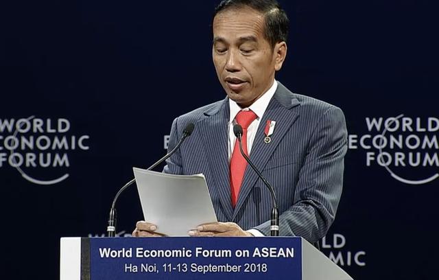 Tổng thống Indonesia phát biểu tại Diễn đàn