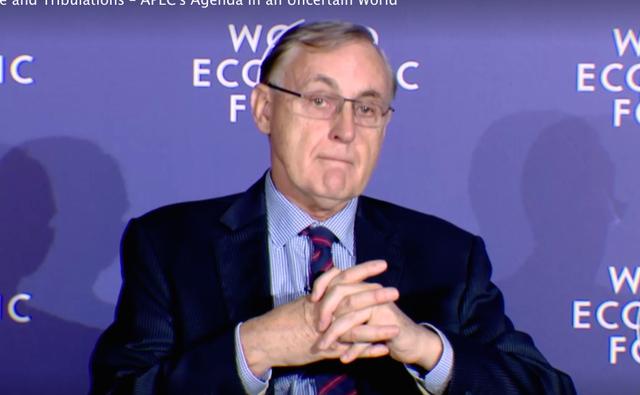 Giám đốc Điều hành Ban thư ký APEC Alan Bollard.