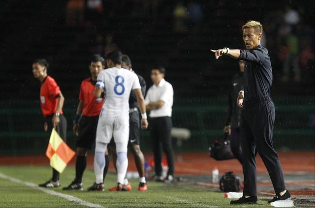 Keisuke Honda tự tin giúp bóng đá Campuchia phát triển trong tương lai