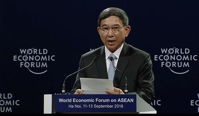 Phó Thủ tướng Thái Lan Prajin Jantong phát biểu ý kiến