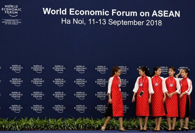 Việt Nam tổ chức Diễn đàn Kinh tế Thế giới về ASEAN từ ngày 11-13/9 (Ảnh: Reuters)