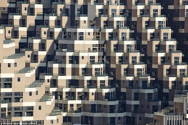 Mỗi căn hộ đều sở hữu ban cộng rộng thoáng