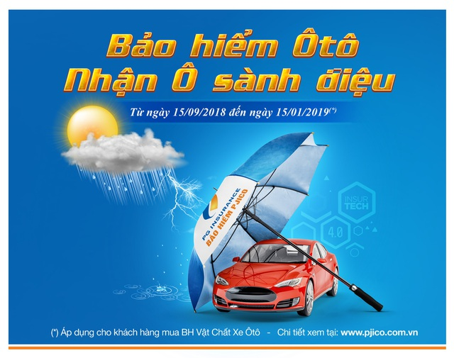 """PJICO ra mắt chương trình """"Bảo hiểm ô tô - Nhận ô sành điệu"""" - 1"""