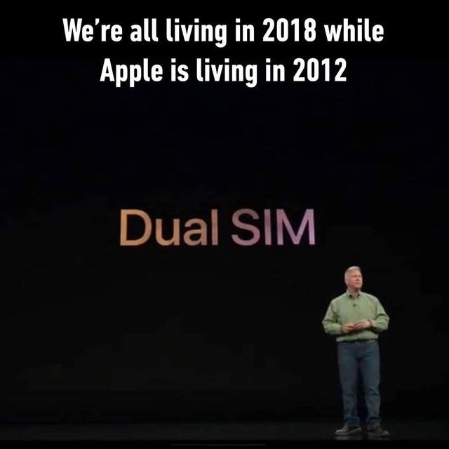 2 SIM, tính năng đã có từ lâu nhưng đến 2018, nó lại là một tính năng mới... được trông đợi trên iPhone