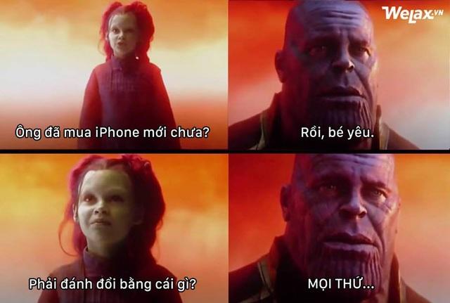 Không phải ai cũng có điều kiện để mua iPhone XS mới và có những người phải đánh đổi mọi thứ (Ảnh: Welax)