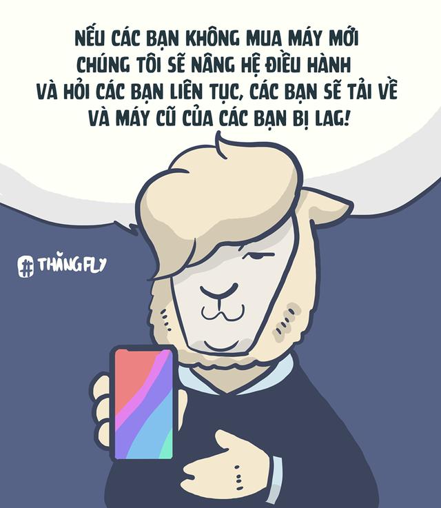 Phải chăng đây là lý do giúp các sản phẩm mới của Apple luôn đắt hàng? (Ảnh: Thăng Fly Comics)