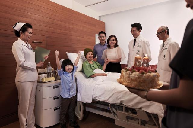 Bệnh nhân Ung thư được chăm sóc tại BI 1