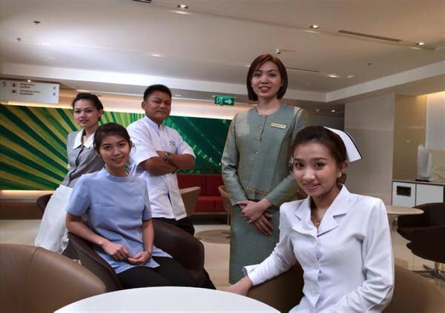 Dịch vụ chăm sóc theo tiêu chuẩn khách sạn