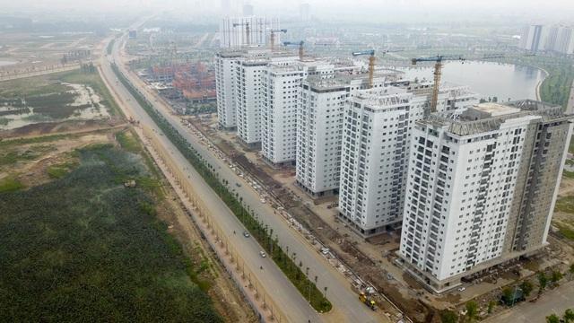 Nhiều khu đô thị mọc lên hai bên tuyến đường trục phía Nam Hà Nội.
