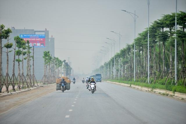 Tuyến đường chạy qua 4 quận, huyện và 13 xã, phường như Hà Đông, Thanh Oai, Ứng Hòa, Phú Xuyên...