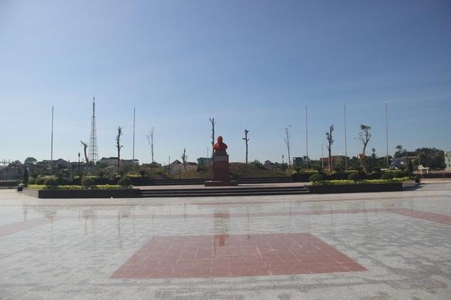 Công viên mang tên nhà lãnh đạo Cuba giữa TP Đông Hà, Quảng Trị, nơi ông đã đến thăm 45 năm trước