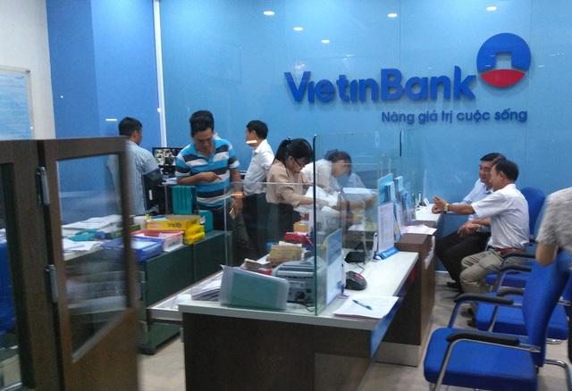 Ngân hàng VietinBank Tân Hiệp, Châu Thành, Tiền Giang, nơi vừa xảy ra vụ cướp chiều nay