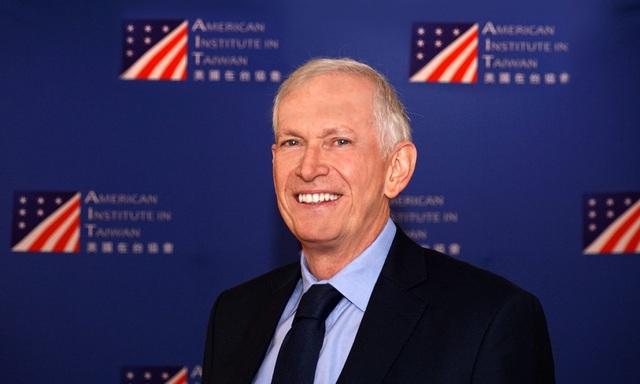 Chủ tịch Viện Hoa Kỳ tại Đài Loan James Moriarty (Ảnh: AIT)