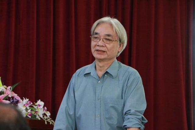 GS Nguyễn Văn Lợi - nguyên Phó Viện trưởng Viện Ngôn ngữ học Việt Nam (Ảnh: Đ.T).