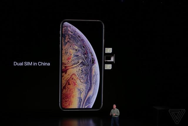 Apple ra mắt 3 phiên bản iPhone mới: XS, XS Max hai SIM và XR nhiều màu sắc - 15