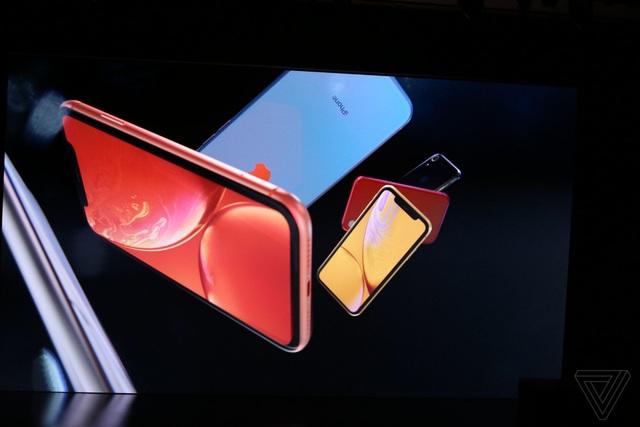Apple ra mắt 3 phiên bản iPhone mới: XS, XS Max hai SIM và XR nhiều màu sắc - 16