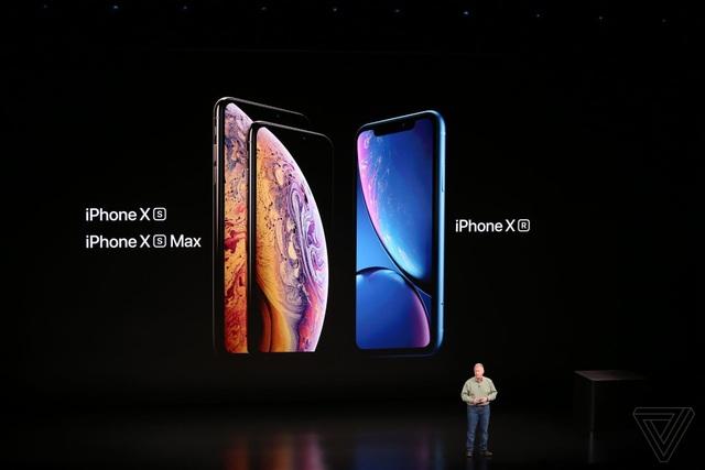 Apple ra mắt 3 phiên bản iPhone mới: XS, XS Max hai SIM và XR nhiều màu sắc - 19
