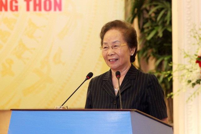 GS.TS Nguyễn Thị Doan, Chủ tịch Hội Khuyến học Việt Nam