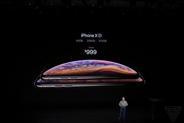Apple ra mắt 3 phiên bản iPhone mới: XS, XS Max hai SIM và XR nhiều màu sắc - 20