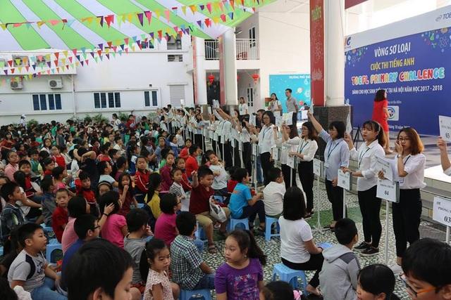 Học sinh Tiểu học Hà Nội tham dự Vòng thi đầu tiên TOEFL Primary Challenge 2017-2018