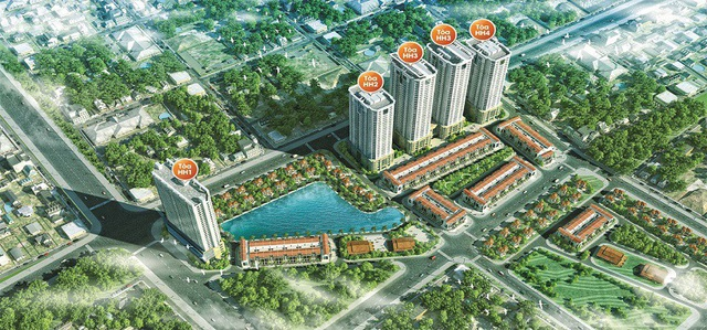 FLC Garden City – được xây dựng trên diện tích 53.440m2