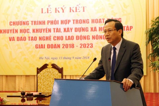 Bộ trưởng Bộ Lao động - TB&XH Đào Ngọc Dung