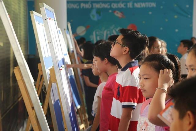 Các thí sinh tham dự cuộc thi TOEFL Junior Challenge mùa giải 2017-2018