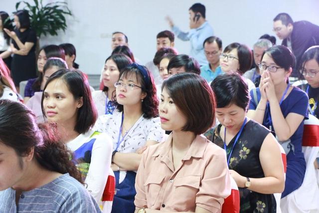 Các phụ huynh tại buổi tọa đàm (Ảnh: Đ.T)
