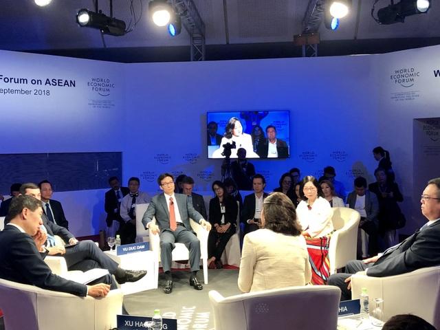 Toàn cảnh phiên thảo luận Tương lai việc làm ở ASEAN