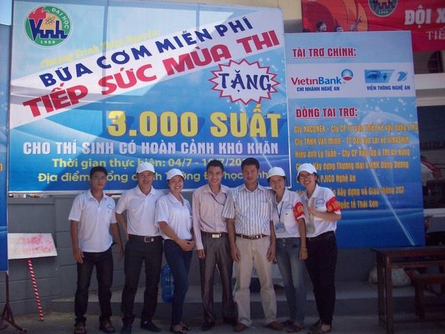 Năm 2013, lúc đó Nguyễn Hữu Bắc là Chủ tịch kiêm TGĐ Công ty Lữ hành Quốc tế Thái Sơn đồng hành cùng Tiếp sức mùa thi tại Cụm Vinh..