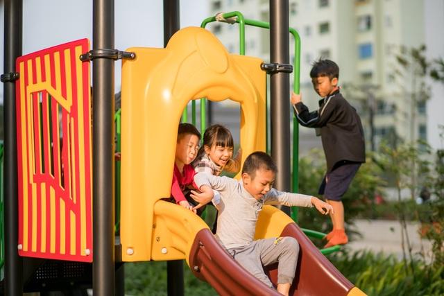 Dự án dành rất nhiều không gian vui chơi cho trẻ em