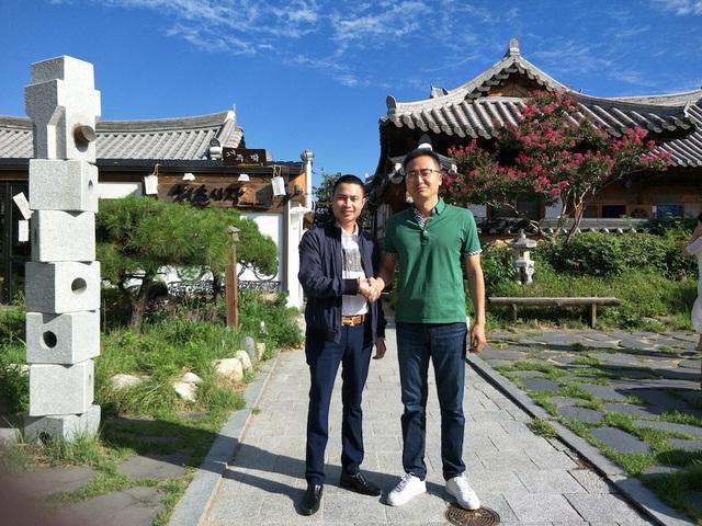 Chủ tịch Du lịch PhucGroup kiêm Phó TTK Hội Doanh nghiệp Du lịch VN tại Lào làm việc về quảng bá Du lịch Việt Nam với Lãnh đạo KTO - Hàn Quốc.