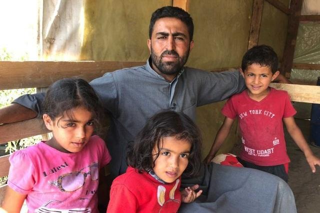 Anh Ahmad, người tị nạn Syria ở Lebanon (Ảnh: ABC News)