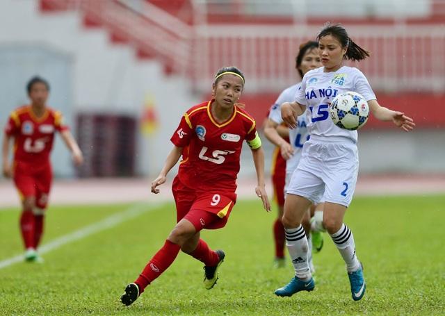 Khởi tranh lượt về giải bóng đá nữ vô địch quốc gia 2018 - 1