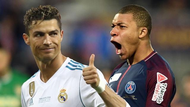C.Ronaldo chính là thần tượng của Mbappe