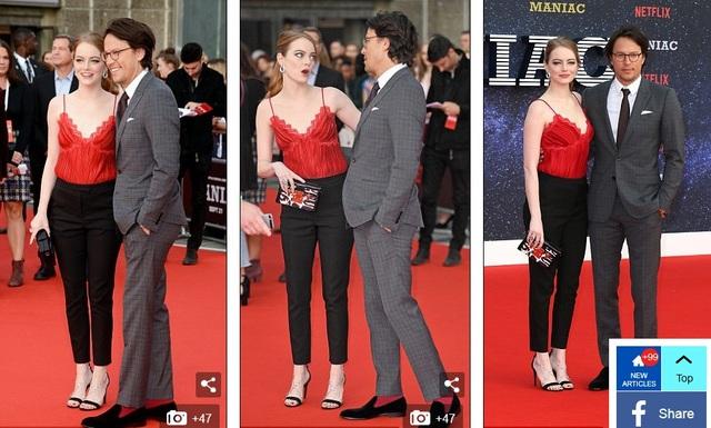 Emma Stone là tâm điểm thu hút sự chú ý