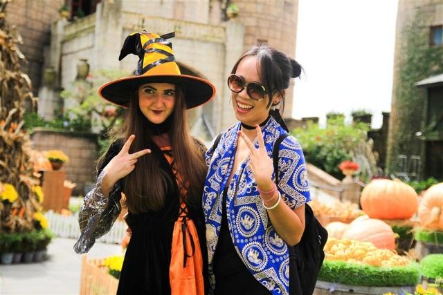 Phiêu lưu trong xứ sở Halloween thần tiên trên đỉnh Bà Nà - 3