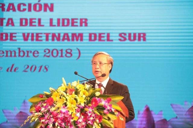 Ông Trần Quốc Vượng - Ủy viên Bộ Chính trị, Thường trực ban Bí thư khẳng định mối quan hệ gắn bó giữa 2 nước Việt Nam - Cuba