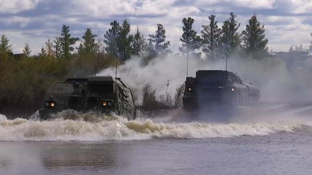 Cuộc tập trận Vostok-2018 diễn ra trong bối cảnh quan hệ giữa Nga với Mỹ và các nước phương Tây đang có nhiều căng thẳng. (Ảnh: EPA)