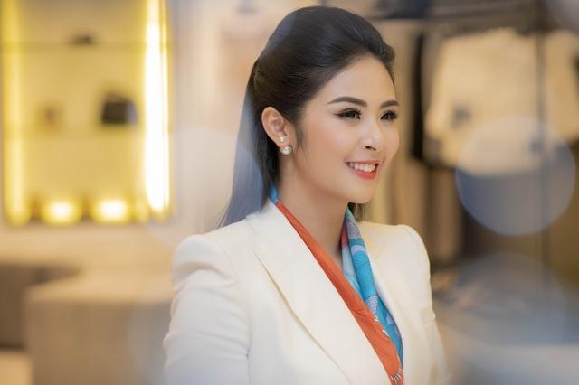 Sự kiện còn có nhiều gương mặt nổi tiếng khác như Hoa hậu Ngọc Hân.