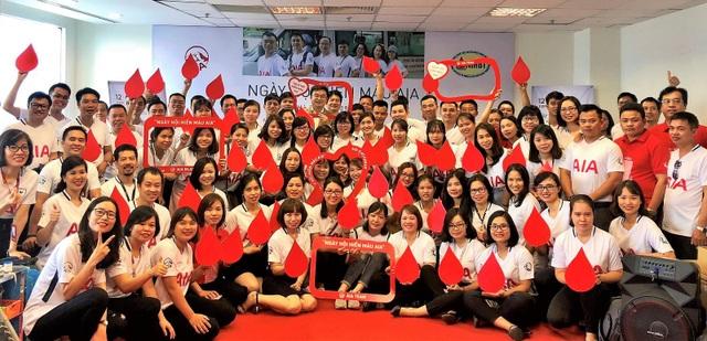 200 Đại lý và nhân viên AIA Việt Nam tham gia hiến máu nhân đạo - 1