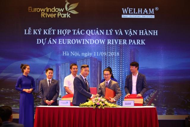 Đại diện Eurowindow Holding và đơn vị quản lý vận hành dự án hàng đầu thị trường - Welham® Vietnam bắt tay hợp tác chiến lược