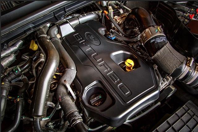 Ford cũng đã trang bị động cơ bi-turbo cho mẫu Ranger tại Việt Nam.