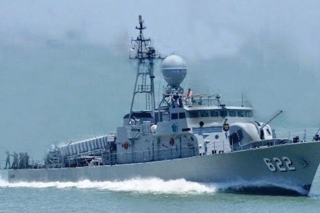 Tàu KRI Rencong-622 (Ảnh: Indonesia Navy)
