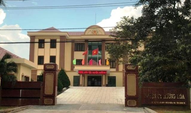 Ủy ban Kiểm tra Trung ương đã kết luận những vi phạm, khuyết điểm của Ban Thường vụ Huyện ủy Hướng Hóa, tỉnh Quảng Trị và các cá nhân