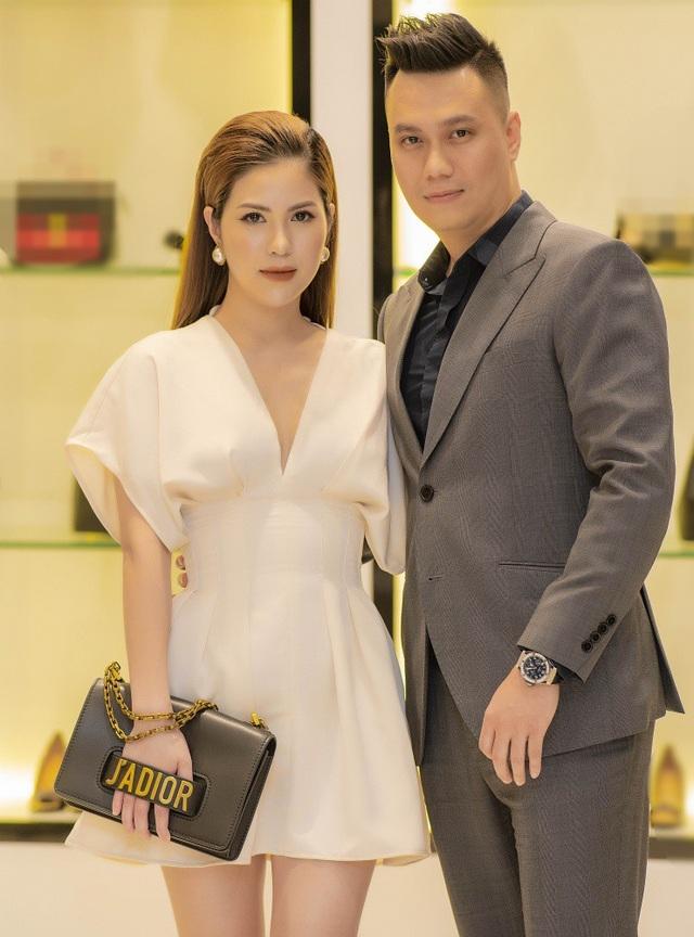 Vợ chồng diễn viên Việt Anh.