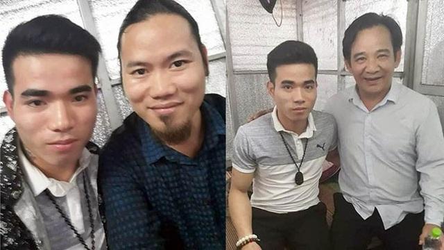 Nghệ sĩ Quang Tèo, Vượng Râu bị cư dân mạng lên án nghi vấn có quan hệ thân thiết với kẻ giết người ở Vĩnh Phúc vì chụp chung bức ảnh.