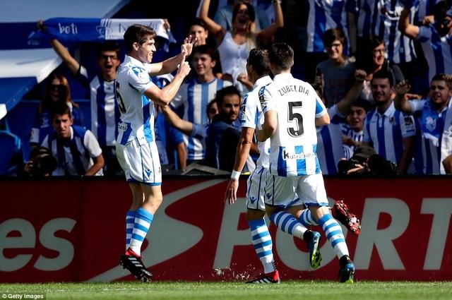 Sociedad đã gây ra nhiều khó khăn cho Barca trong cả trận đấu