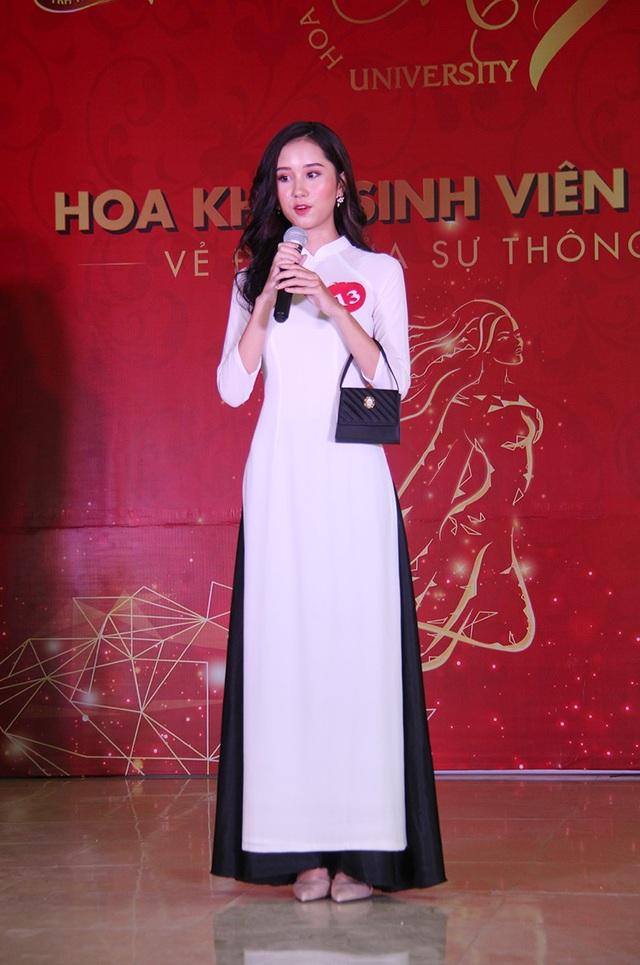 Nữ sinh Hà Nội xúng xính váy áo dự thi Sơ khảo Hoa khôi Sinh viên Việt Nam - 10