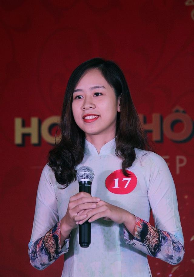 Nữ sinh Hà Nội xúng xính váy áo dự thi Sơ khảo Hoa khôi Sinh viên Việt Nam - 8